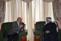 الاستاذ-طارق-الهاشمي-يستقبل-سفير-الجمهورية-العربية-السورية-في-الدوحة