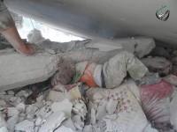 صورة-حقيقية--من-قصف-حلب